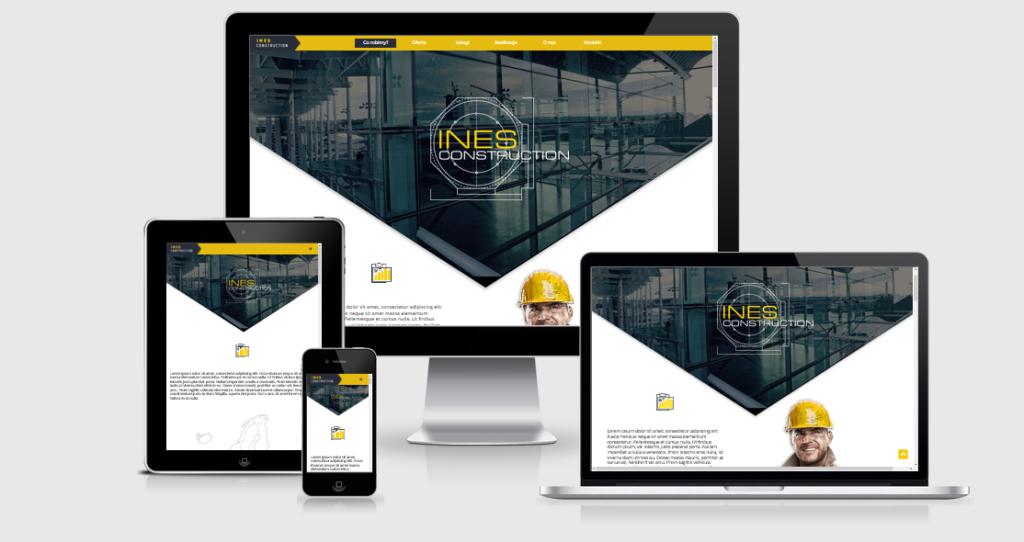 Projektowanie Stron internetowych - Strony firmowe